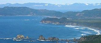 Flattery Rocks National Wildlife Refuge - Image: Point of arches flattery rocks nwr