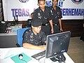 Police officers in Danga Bay Police Station.jpg