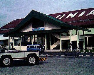 Soewondo Air Force Base airbase and former airport serving Medan, North Sumatra, Indonesia