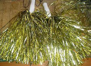 Pom-pom - A pair of cheerleading pom-poms