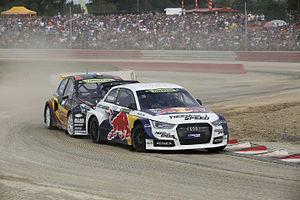 2014 World RX of France - Pontus Tidemand and Jérôme Grosset-Janin