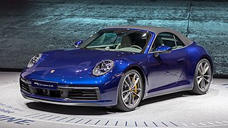 Eighth generation of the Porsche 911