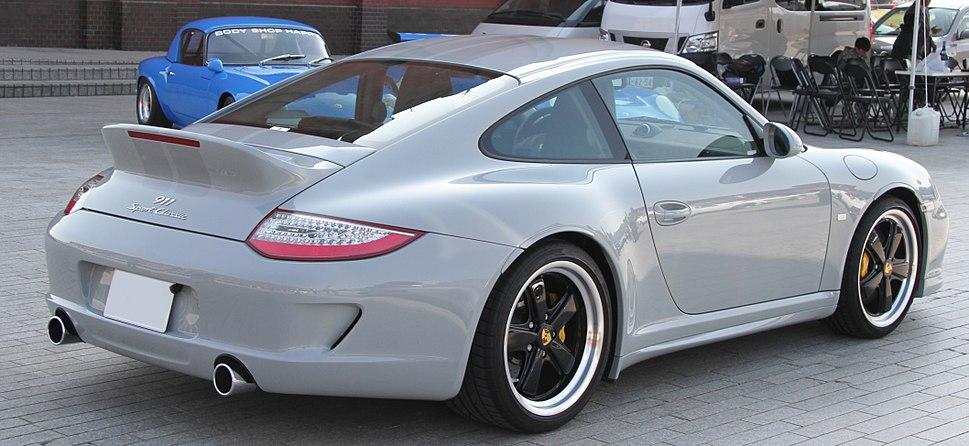 Porsche 997 Sport Classic rear