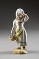 Porslinsflicka med fruktkorg, från 1700-talets slut - Hallwylska museet - 93755.tif