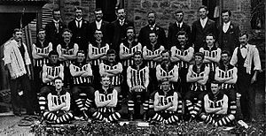 1903 SAFA season - 27th season Pictured above is the 1903 Port Adelaide  premiership team.