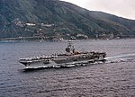 Port side view of USS George Washington (CVN-73) in the Strait of Messina 960305-N-7340V-004.jpg