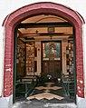 Portal der historischen Fischerkapelle in Brendene (Belgien), 09-2020.jpg