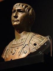Portrait en buste cuirassé de Trajan