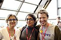Portrait from Wikimania 2017 — 34 — Camelia, Sejal, and Sage.jpg