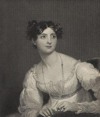 Harriet Arbuthnot - Portrait of Harriet Arbuthnot