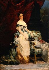 Portrait of Princess Brancaccio-Massimo