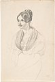 Portrait of a Young Woman; verso- Sketch of a Young Woman with her Hands Resting on a Table MET DP807678.jpg