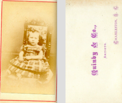 Portrait of child by Quinby and Co of Charleston South Carolina.png