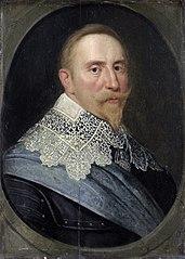 Portrait of Gustav II Adolf (1594-1632), King of Sweden
