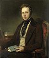 Portret van een man, misschien Petrus Augustus de Genestet (1829-61), dichter Rijksmuseum SK-A-3466.jpeg