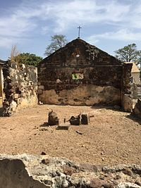 Portuguese Chapel in Albreda, The Gambia (23266092224).jpg