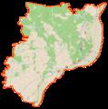 Powiat świecki location map.png