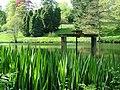 Powis Castle pond - geograph.org.uk - 416220.jpg