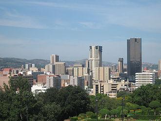 Timeline of Pretoria - View of Pretoria, 2008