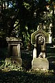 Praha, Smíchov, Malostranský hřbitov, hrobky.jpg