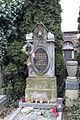 Praha, hřbitov Malvazinky, hrob malířky Jaroslavy Rudiger (2).jpg