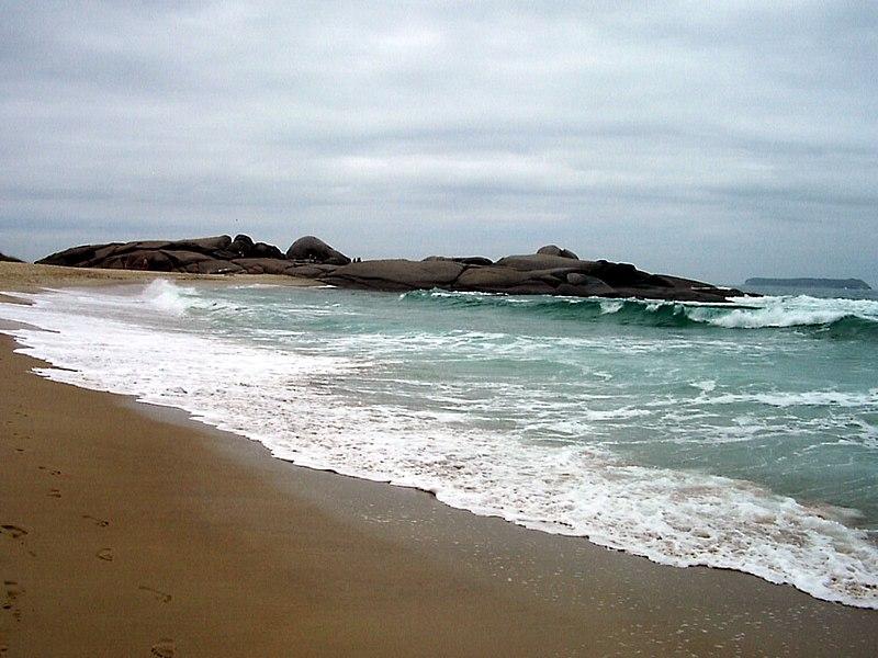 Mapa das praias mais bonitas de Florianópolis