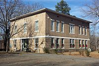 Prairie County Courthouse, De Valls Bluff, AR 001
