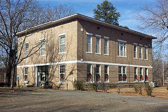 DeValls Bluff, Arkansas - Prairie County Courthouse, Southern District