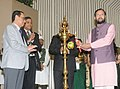 Prakash Javadekar lighting the lamp at the 4th Foundation Day function of the National Green Tribunal.jpg