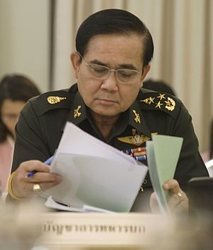 Thailand–United States relations - General Prayut Chan-o-cha, Commander of the Royal Thai Army, leader of the 2014 Thai coup d'état