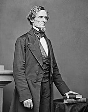 Jefferson Davis, first and only President of the Confederate States of America