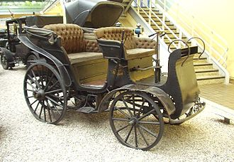 Tatra (company) - Präsident, the first factory made car in Central and Eastern Europe in 1897