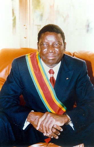 President Gnassingbé Eyadéma of Republic of Togo, West Africa.jpg