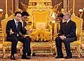 President Lee and Cambodia's King Norodom Sihamoni (4348149784).jpg