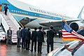 President Trump Arrives in Osaka (48138416493).jpg