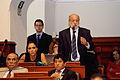 Presidente del congreso en debate parlamentario (6881678666).jpg