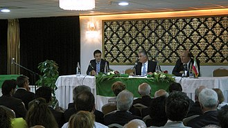 Reza Pahlavi, Crown Prince of Iran - Crown Prince Reza with the Persian Community in the Netherlands, May 2012