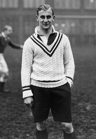 Alexander Obolensky - Obolensky scored on his England debut in their win over New Zealand in January 1936