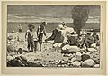 Print, Sea-Side Sketches-A Clam Bake, from Harper's Weekly, August 23, 1873, p. 740, 1873 (CH 18606371).jpg