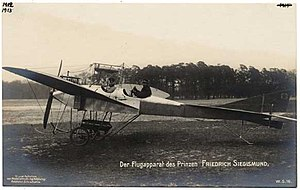 Prince Friedrich Sigismund of Prussia (1891–1927) - Waiting to be taken-off