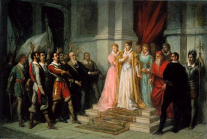 Margaret of Savoy, Vicereine of Portugal - The Duchess of Mantua is arrested, following the Restoration of Independence.