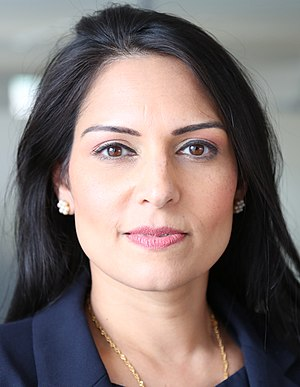 British Indian - Conservative MP Priti Patel, the current Secretary of State for International Development