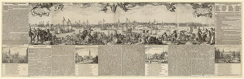 Bestand:Profile of Amsterdam, 1611.jpg