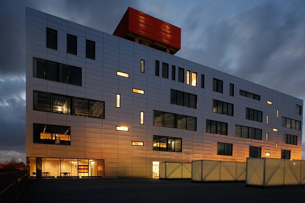 Projet de l'Hôpital Erasme par MA²
