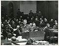 Prosecutor Ralph Albrecht addresses Nuremberg Trials 1945.jpeg