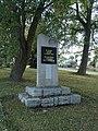 Prostiboř, pomník padlým I. světové války, mírně zleva.jpg