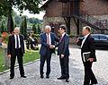 Przewodniczący Parlamentu Europejskiego Jerzy Buzek oraz Poseł Tomasz Głogowski (6124290609).jpg