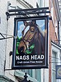 Pub sign Nags Head, Micklegate, York Sept 2018 01.jpg