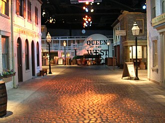 Cincinnati History Museum - The Public Landing at the Cincinnati History Museum in Cincinnati Ohio.