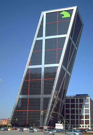 Bankia - Bankia's operational headquarters in Puerta de Europa Tower in Madrid
